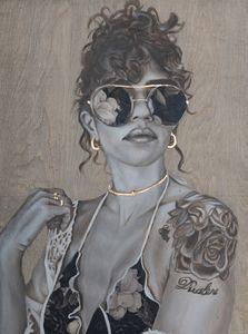 She's in fashion - Simone Scholes Art