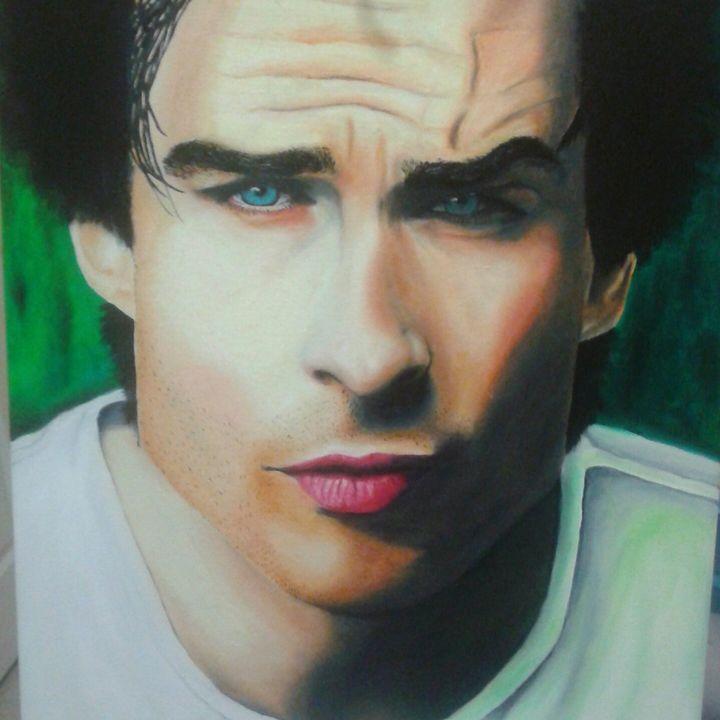 Ian Somerhalder portrait - Maura Reyes