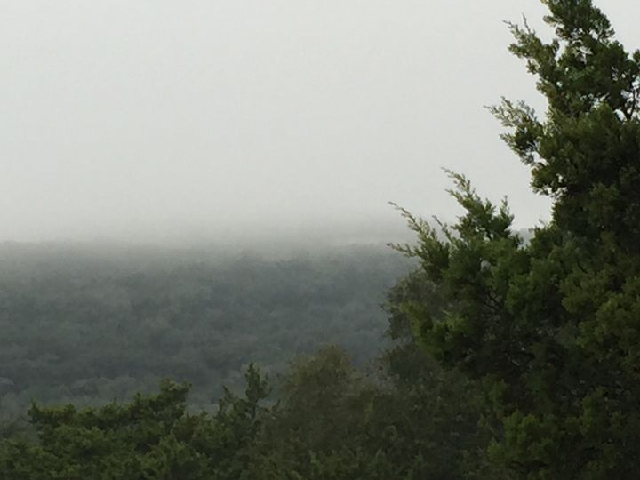 Hill Country Fog - Temple