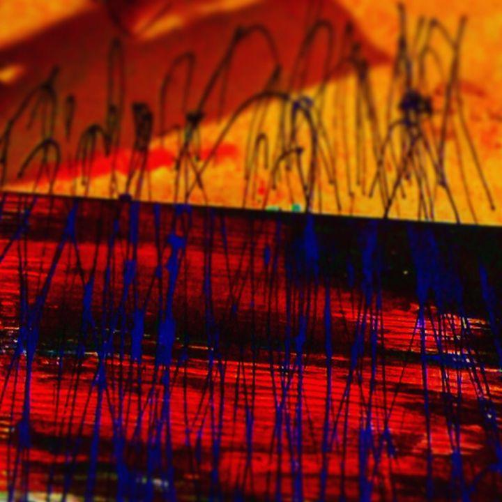 Blue lines - Temple