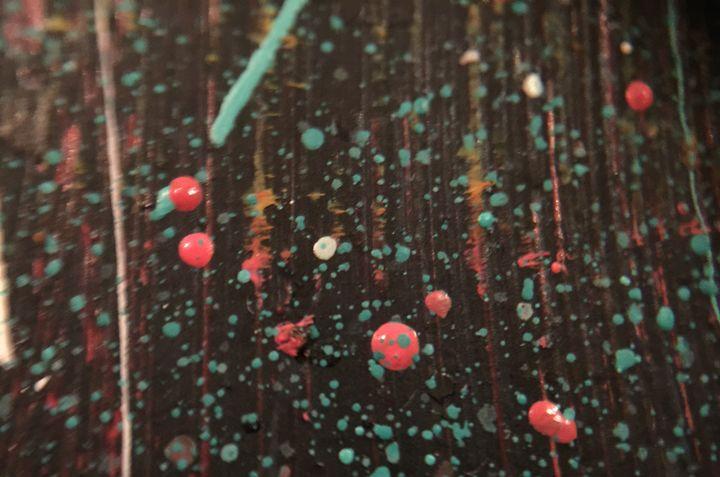 Paint Droplets - Temple