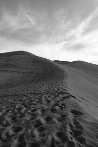 Footpaths on the Dunes