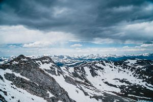 Above the Rocky Mountains