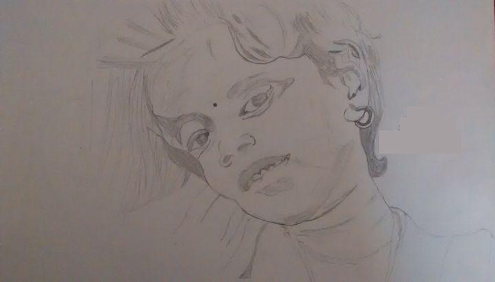 Baby kid - Drawings Paintings Modern Art