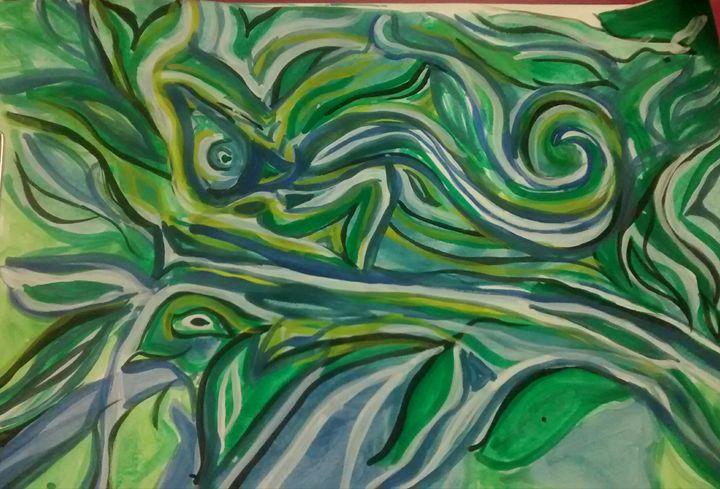 Nature - Drawings Paintings Modern Art