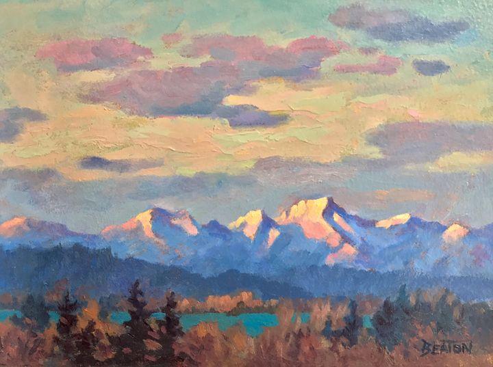 Alpine Glow - Heather Beaton