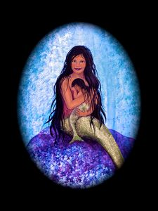Mermaid: Madonna and Child