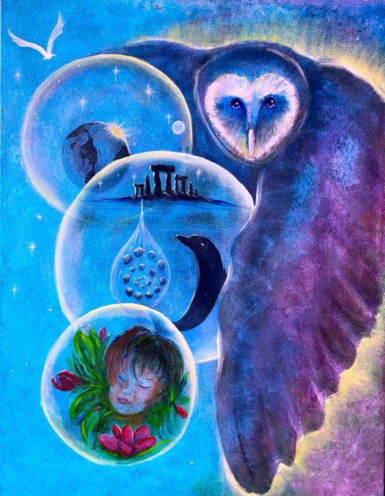The Guardian of Mysteries - Raven Sunbird