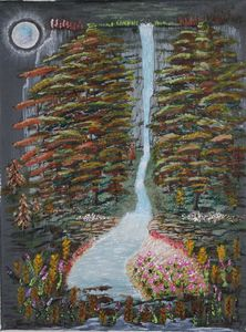 Moonlight Riverbank