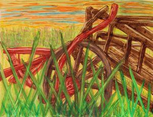 Wagon Wheel Sunset