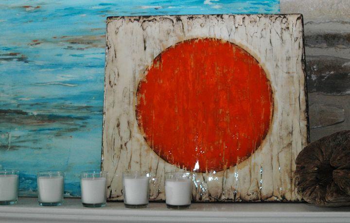 the orange spot. - Mino'aka Studios