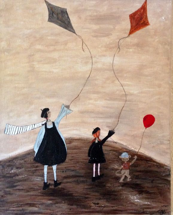 Lets go fly a kite - Terys Art