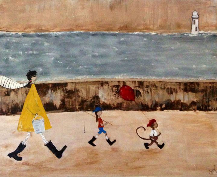 Beach Day - Terys Art