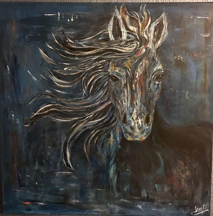 Wild Horse - Terys Art