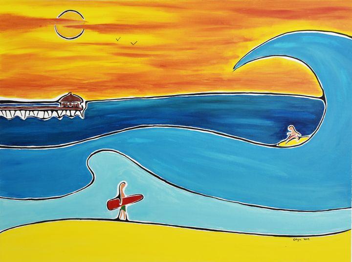 Big waves - Kurt Champe