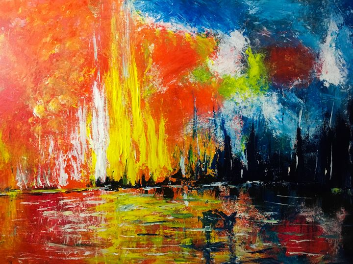 Red Sky - Rudinarts.com