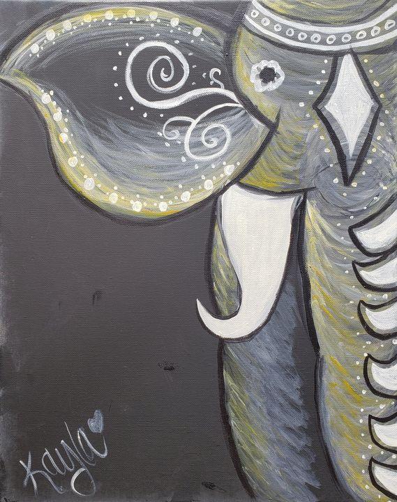 Elephant Ellegance - JK Massaro