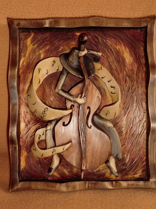 Picture of wood Ghost music - Gennady Makulov. The art of carving