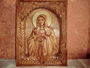 The Kaluga Icon of the Mother of God - Gennady Makulov. The art of carving