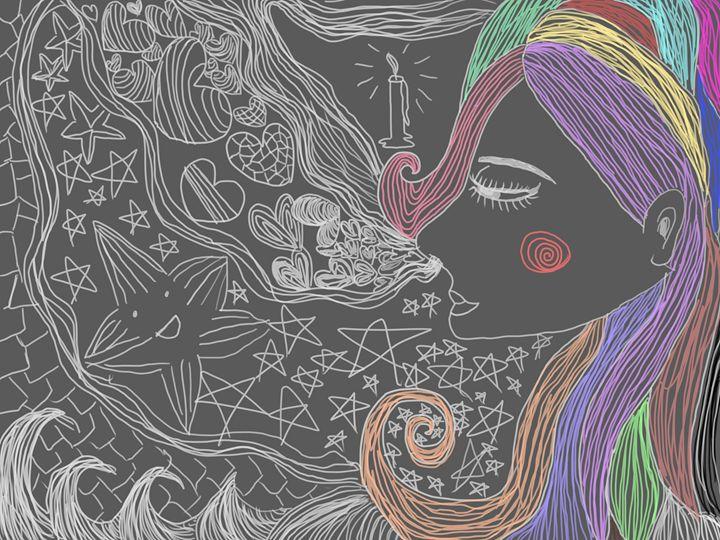 Dreaming girl - Daisyjayj