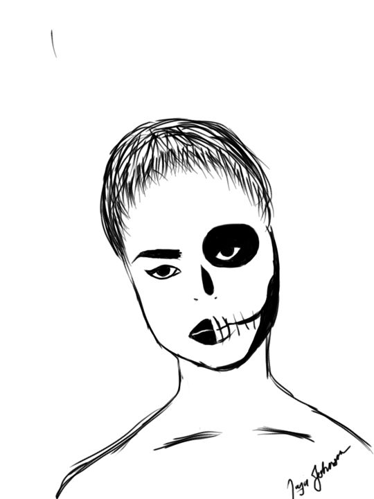 Sugar Skull - Taj the Jay