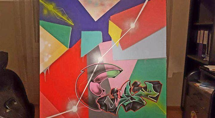 SEZ72 Canvas - SEZ72 GRAFFITI ARTIST