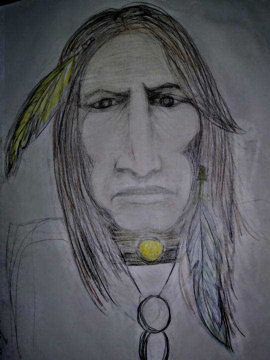 Indian sketch - Nays doodles