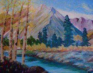 Mountain Splendor - Allison Prior Art