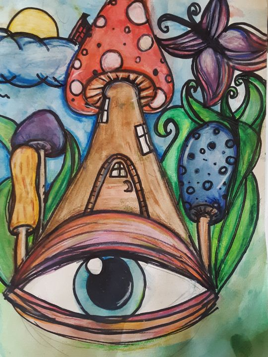 Eye am always watching - Eccentric Jayde's Creations