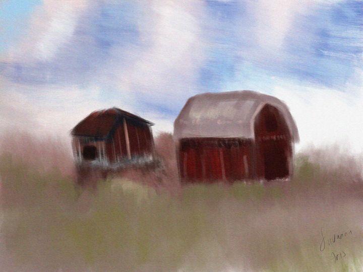 Lonely farms - SavannaArt