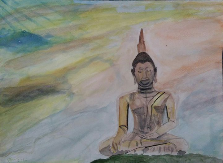 Lord Buddha - Kiran Kamble