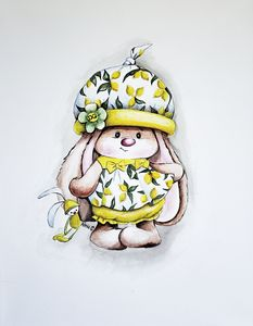 """""""Cute Bunny wearing Dolce&Gabbana"""""""