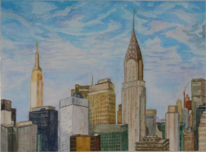 New-York City - Tatiana's paintings