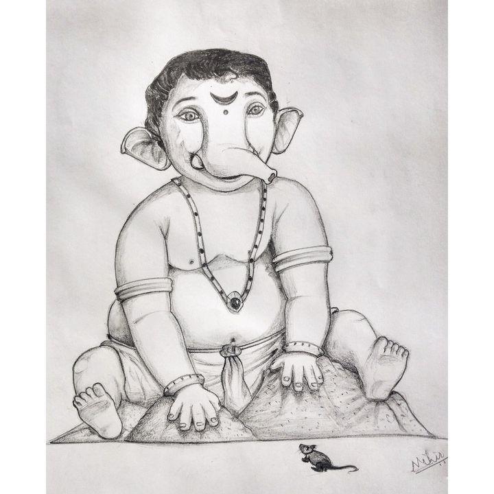 Ganesha in Baby form - Mivitani