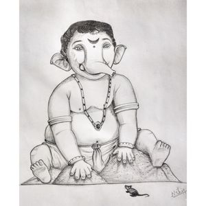 Ganesha in Baby form