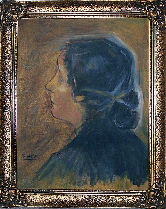 girl portrait - vangel