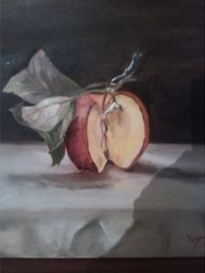 40x40cm oil painting still life