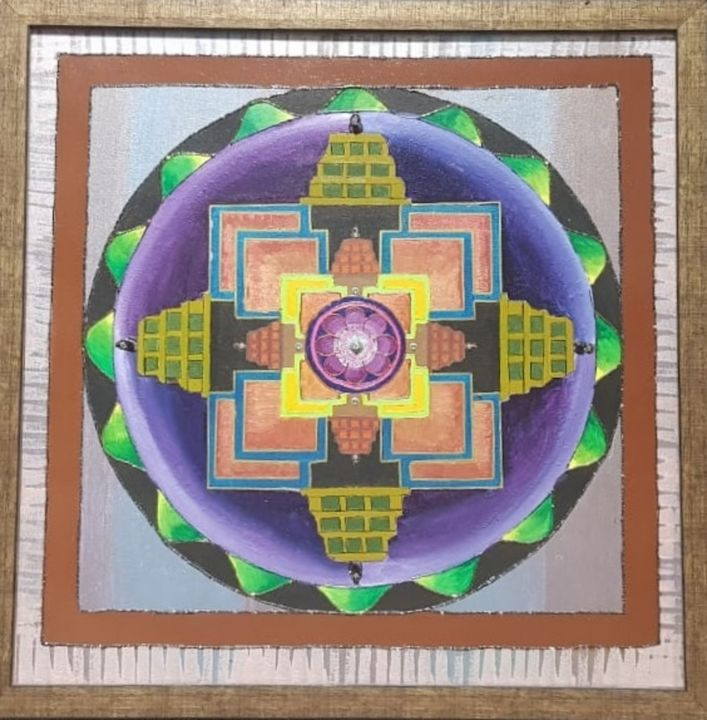 SRI YANTRA - Pallavi More's Creativity