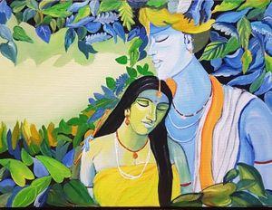 Lord Jai shree krishna- Radha ji