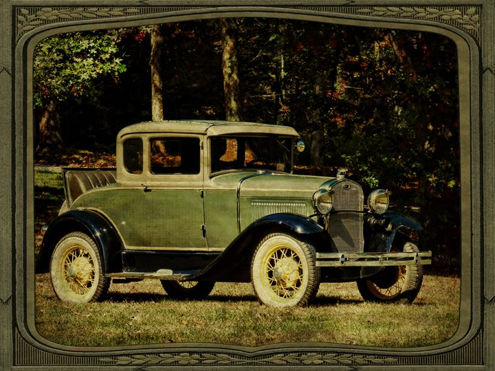 1931 Rumble Seat Classic - Pine Singer Photographic Art