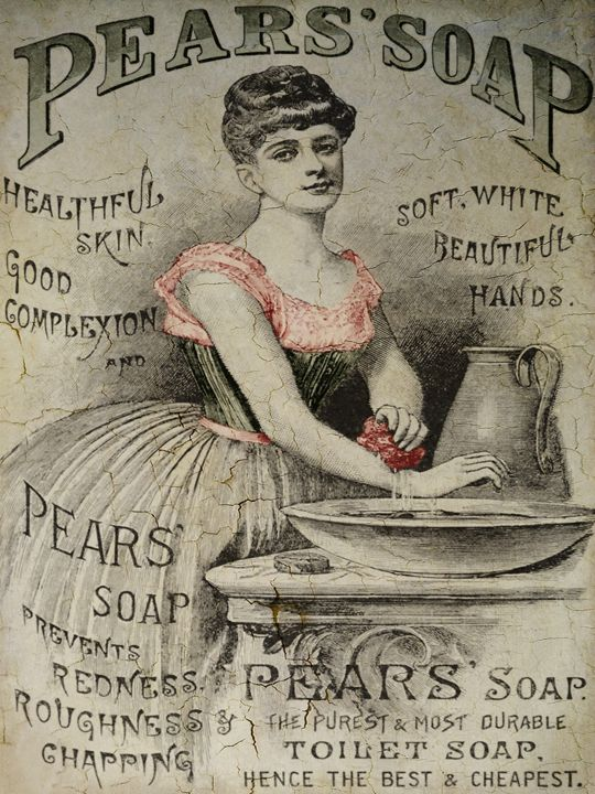 Pears Soap Advertisement - Pine Singer Photographic Art