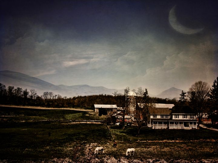 Mankind and the Mountains - Pine Singer Photographic Art
