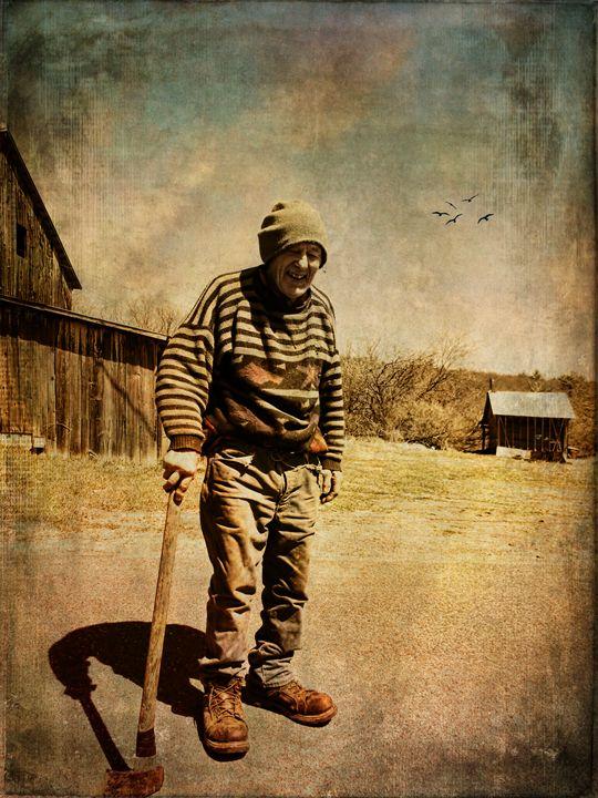 Loving Life at 91 - Pine Singer Photographic Art
