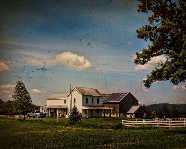 The Quiet Farmstead - Pine Singer Photographic Art