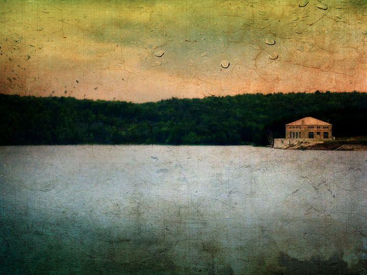 Rainy Day in Neversink - Pine Singer Photographic Art