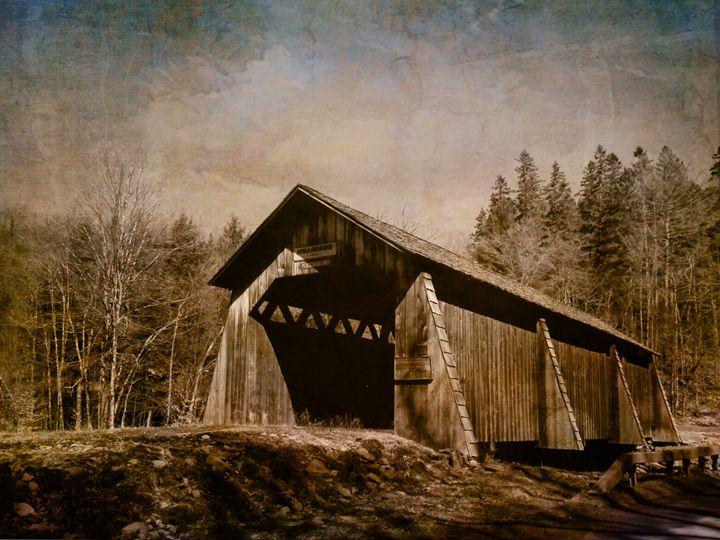 Covered Bridge-Grants Mill - Pine Singer Photographic Art
