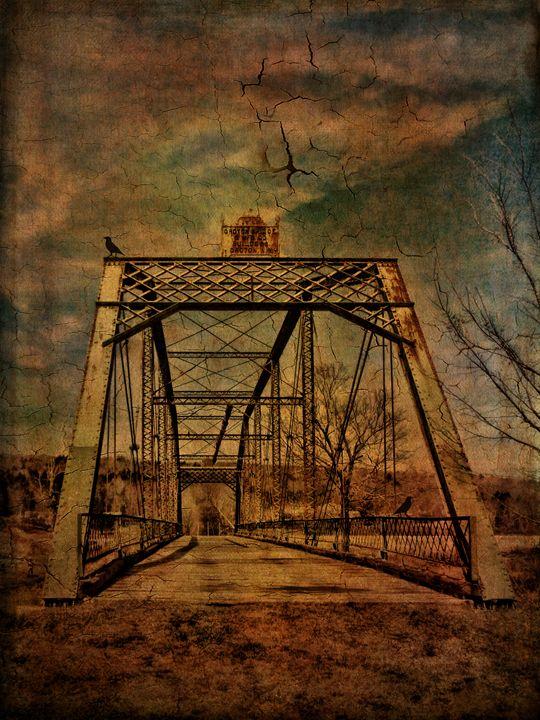1897 Bridge over Neversink River - Pine Singer Photographic Art