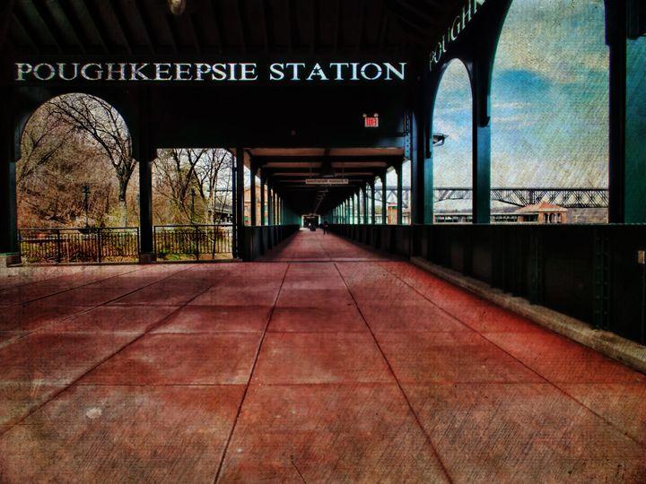 Poughkeepsie Station Pavilion - Pine Singer Photographic Art