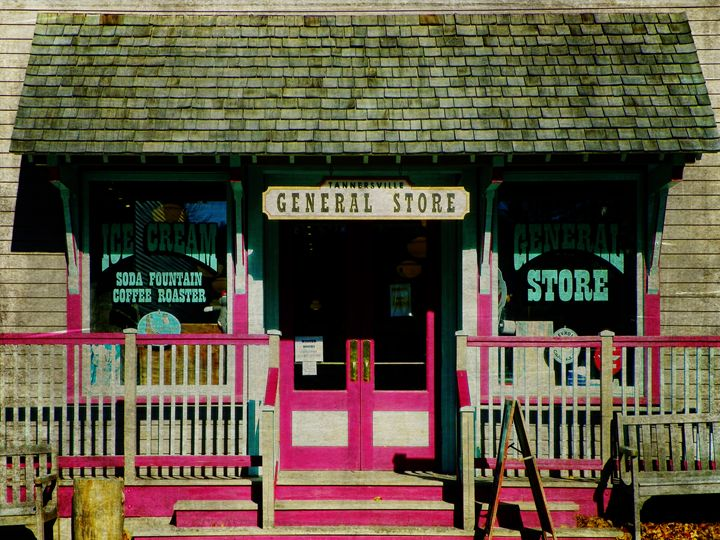 Tannersville General Store - Pine Singer Photographic Art