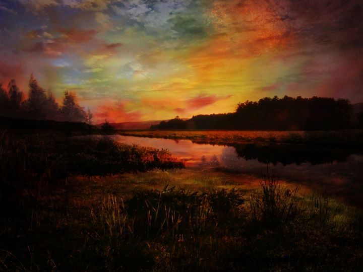 Silent Hours at the Bashakill - Pine Singer Photographic Art